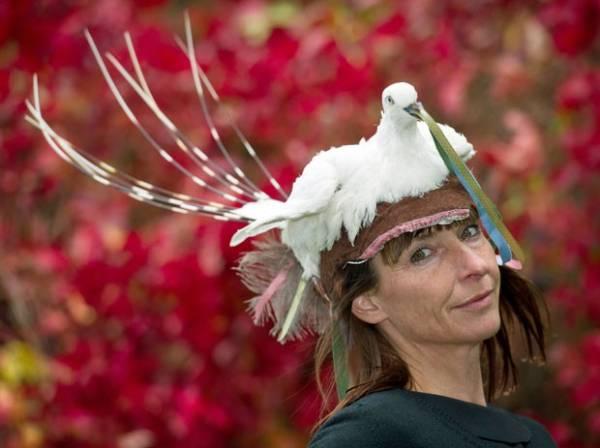 Artista alemã cria sapato feito com cascos de cavalo e revólveres