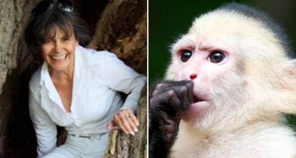 Dona de casa criada por macacos conta sua história em livro