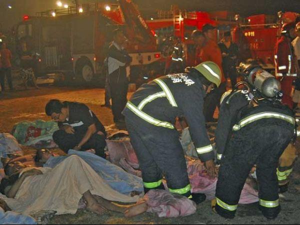 Incêndio em hospital deixa 12 mortos em Taiwan; 115 pessoas são retiradas