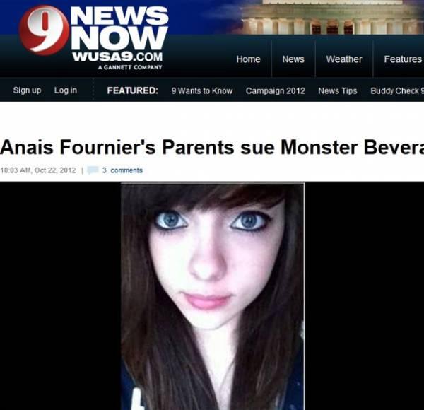 Menina de 14 anos morre de ataque cardíaco após beber energético