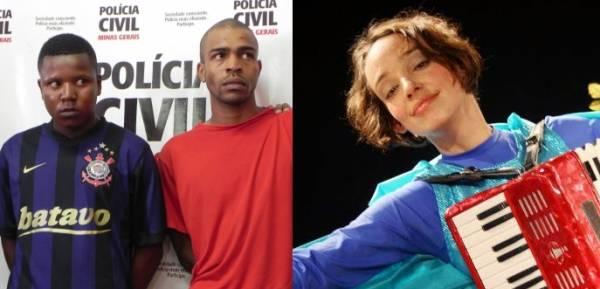 Dupla presa por assassinato de atriz confessa o crime em depoimento