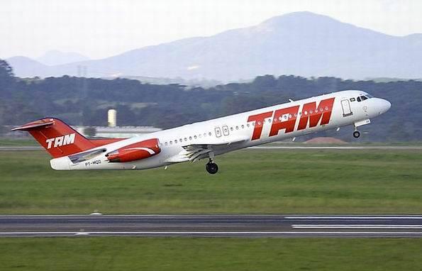 TAM quer aumento do preço das passagens aéreas em 10%