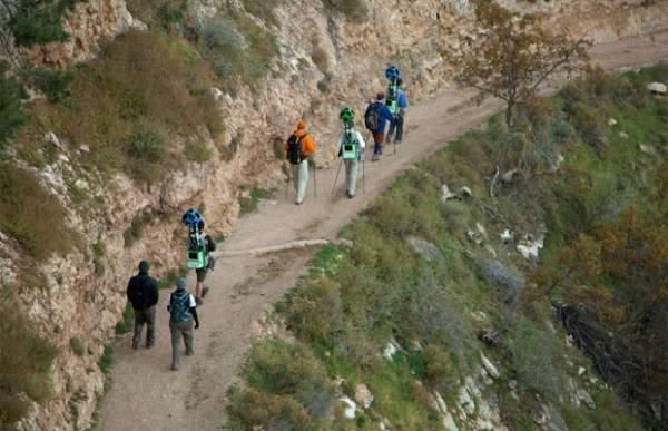 Mochila com sistema de câmeras leva Grand Canyon ao Street View