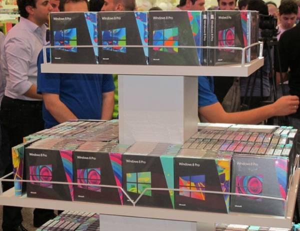 Sistema Windows 8 começa a ser vendido no Brasil