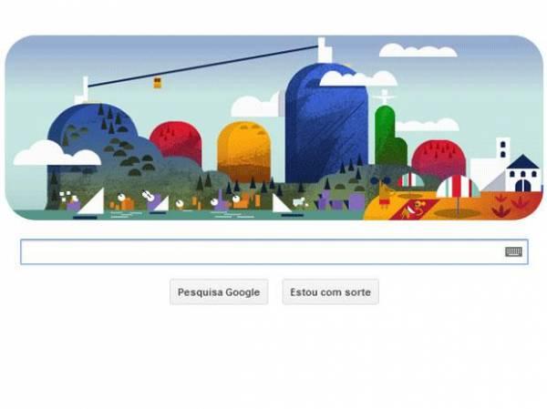 Bondinho do Pão de Açúcar é homenageado em doodle do Google
