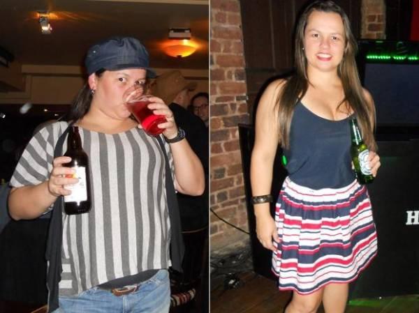 Mulher adota nova vida, com menos sal e muito exercício, e elimina 11 kg