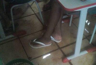 Professora é demitida após divulgar fotos de escola alagada em Imperatriz, no Maranhão