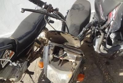 Video flagra roubo de motocicleta em Floriano; dois foram presos