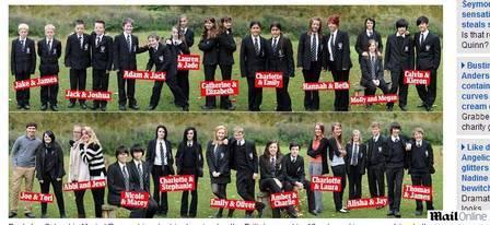 Escola britânica bate recorde e tem 20 duplas de gêmeos