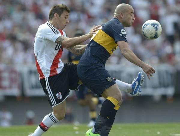 River e Boca se reencontram com empate por 2 a 2 no último lance