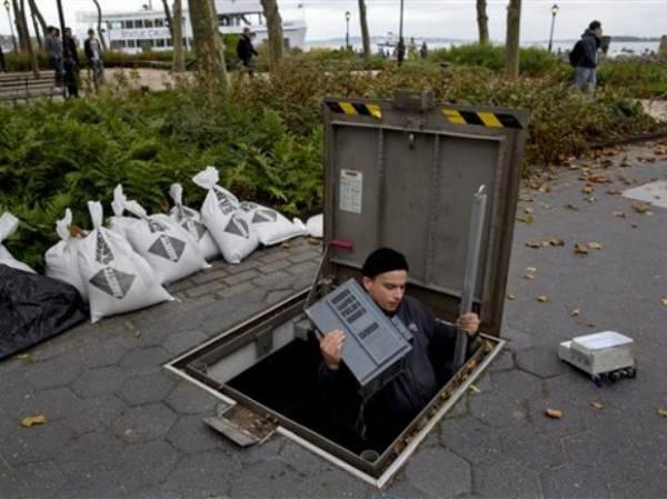 Nova York amanhece paralisada por passagem de furacão