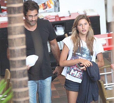 Luciano Szafir diz que fala sobre drogas e álcool com a filha Sasha