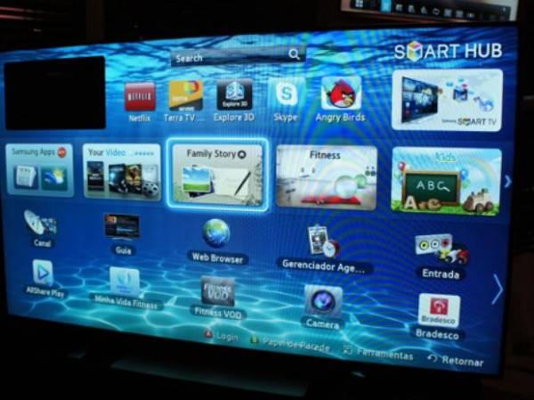 Samsung apresenta TV de 75 polegadas