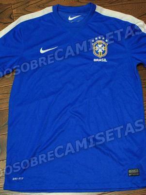 Site publica suposta camisa do Brasil na C. das Confederações