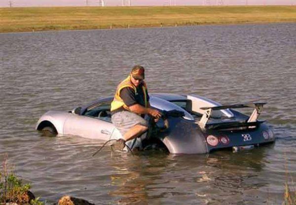 Americano será julgado por suspeita de jogar carro de luxo em lagoa