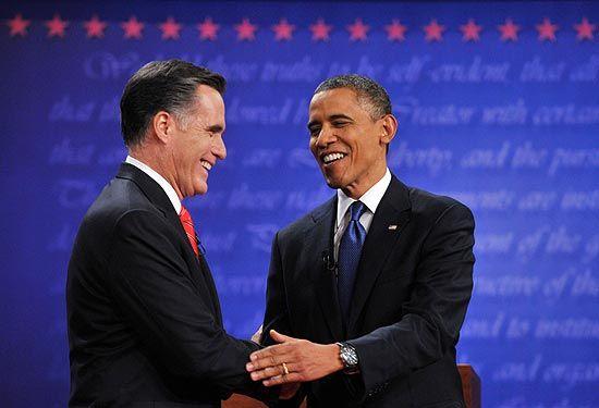 Com estatísticas, Romney vence Obama no debate nos EUA