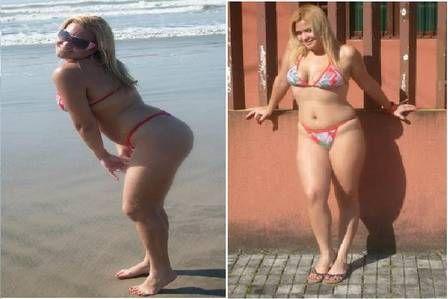 Geisy Arruda perde 3kg e mostra resultado de biquininho no banheiro