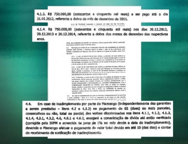 Contrato de Ronaldinho com Fla tem aumento salarial de R$ 44 mi