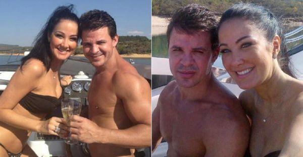 Helen Ganzarolli assume namoro com o sertanejo Eduardo Costa