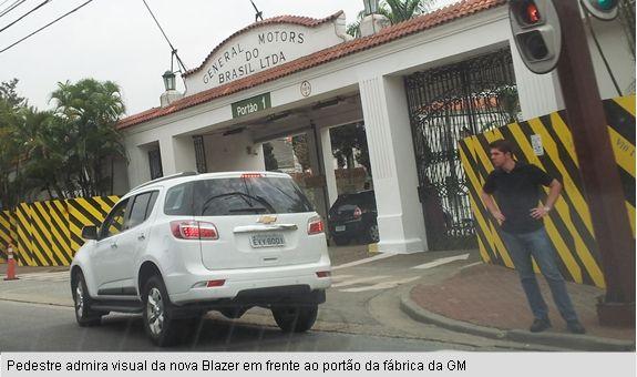Primeira vez: Nova Chevrolet Blazer sem disfarces