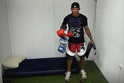 Piauiense se muda para academia e promete ir pra cima no UFC Rio
