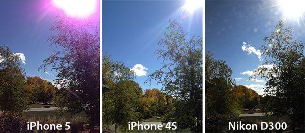 Apple admite aparição de manchas roxas nas fotos do iPhone 5
