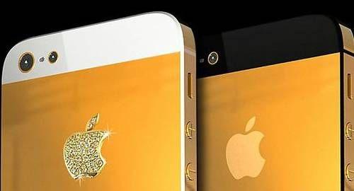 Designer cria iPhone 5 com ouro e diamantes por R$ 71.759