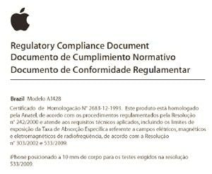 Anatel autoriza venda do iPhone 5 no Brasill; preço não foi revelado
