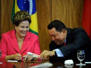 Dilma diz que reeleição de Chávez foi