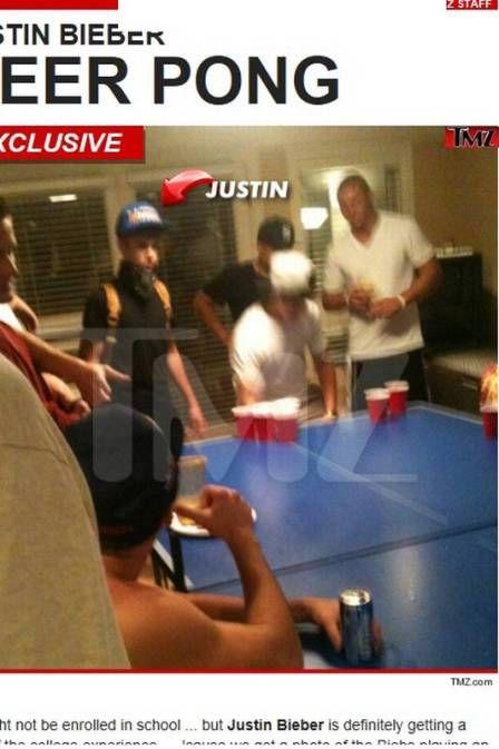 Justin Bieber é flagrado bebendo cerveja ilegalmente