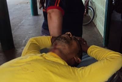 Acusado de tráfico de drogas, presidiário tenta suicídio com palito de espetinho