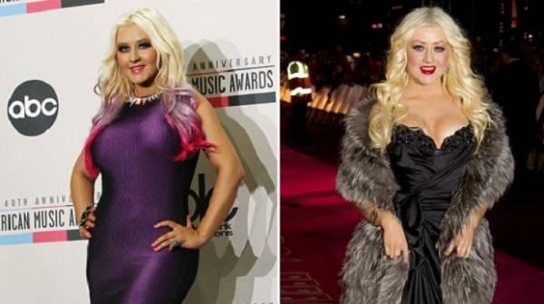 Internautas criticam foto magérrima de Christina Aguilera