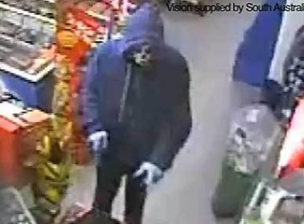Ladrão rouba loja na Austrália usando máscara de Halloween