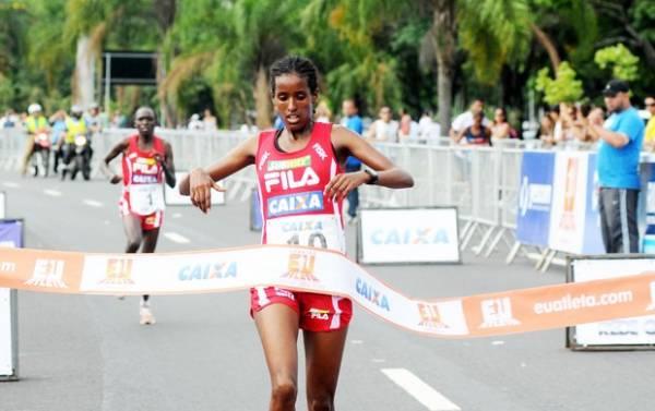 Com recordes, quenianos dominam pódio da Corrida Eu Atleta 10K Rio