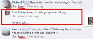 Facebook inicia testes das respostas mais simples aos comentários