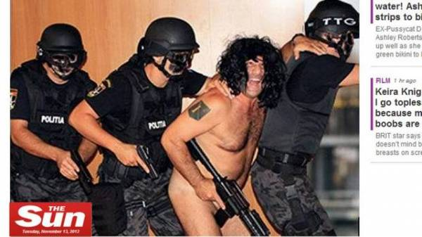 Fotos de chefe de polícia nu durante treinamento vazam na internet
