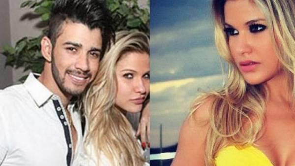 Gusttavo Lima engrena namoro com ex de Theo Becker