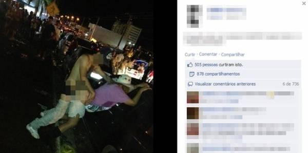 Imagens de sexo nas ruas durante o Caldas Country Show caem na web e geram polêmica