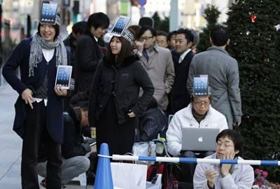 Apple começa a vender iPad mini em 34 países