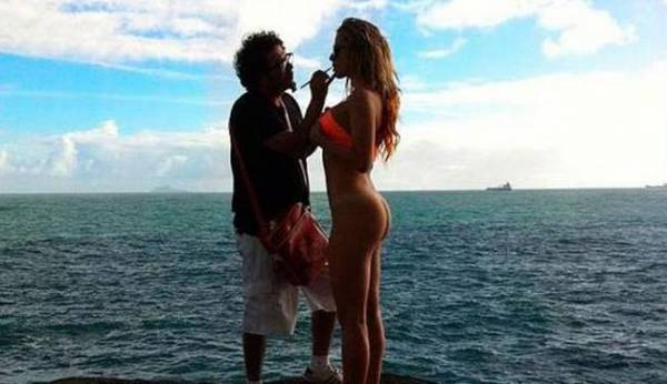 Ex de Gusttavo Lima divulga capa de Playboy