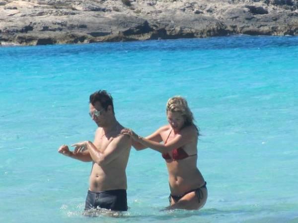 Kate Moss encontou o marido