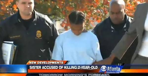 Adolescente mata irmã de apenas 2 anos a facadas