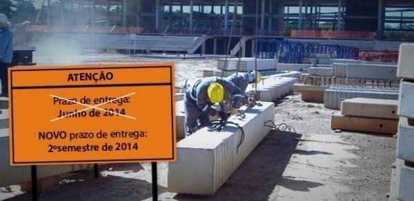 SP admite que monotrilho, única obra prometida para a Copa, não ficará pronto a tempo