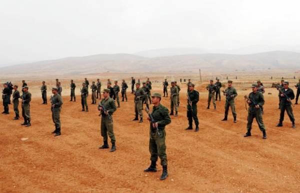 Agência Síria divulga imagens de treinamento militar
