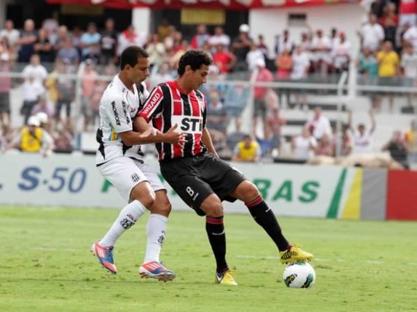 Com Ganso e reservas, São Paulo empata com Ponte em Campinas