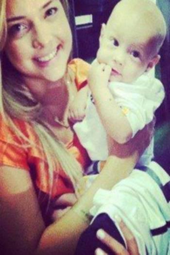 Família quer ver Neymar com mãe de Davi Lucca