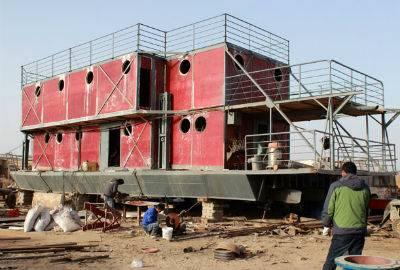 Com medo do fim do mundo, chinês gasta economias para construir arca