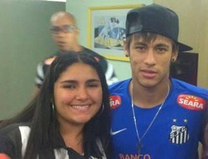 Fã de 14 anos faz homenagem ao Neymar com tatuagem gigante