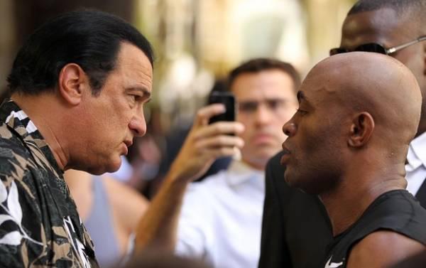 Anderson Silva vai estrelar filme policial com Steven Seagal