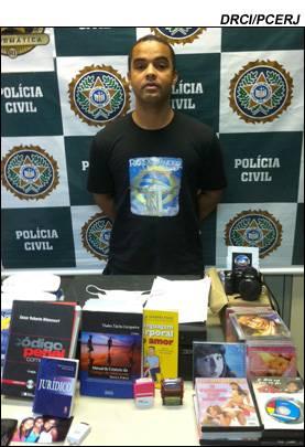 Pedófilo é preso acusado de aliciar menores através do Orkut